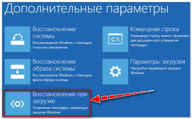 Устранение неполадок, мешающих загрузке Windows